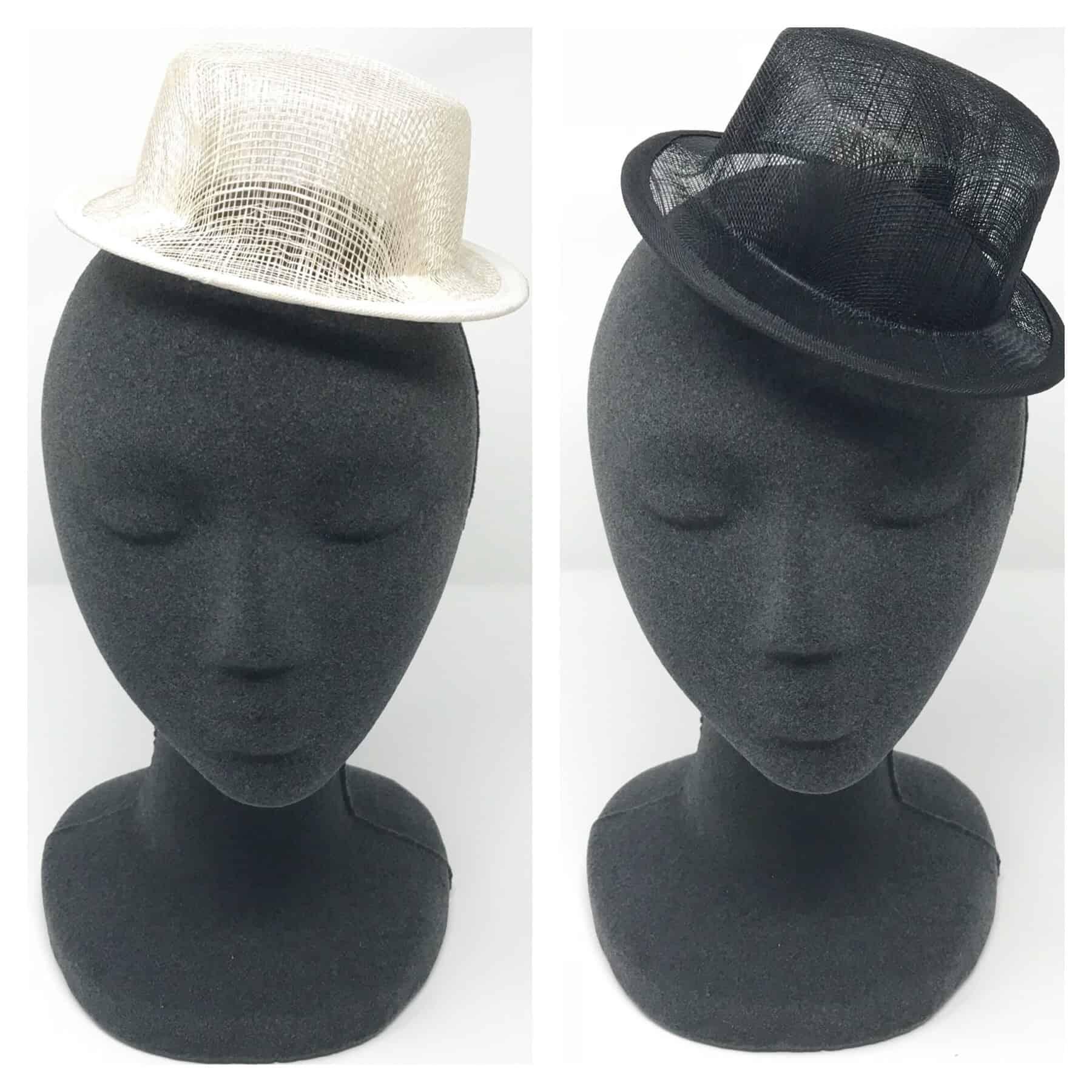 644a2473942 Sinamay Mini Top Hat - Shine Trim