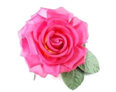 Large Silk Rose