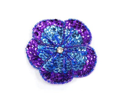 New Garden Sequin Flower (Small)