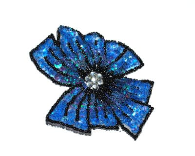 Sequin Small Bow