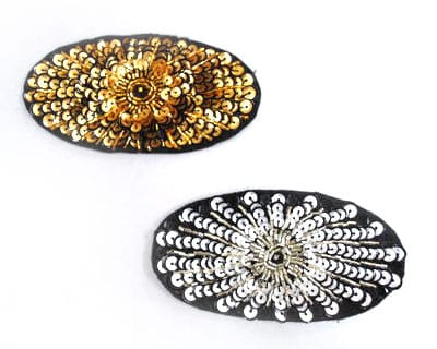 Sequin Oval Patch
