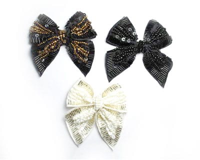 Small Beaded Bow