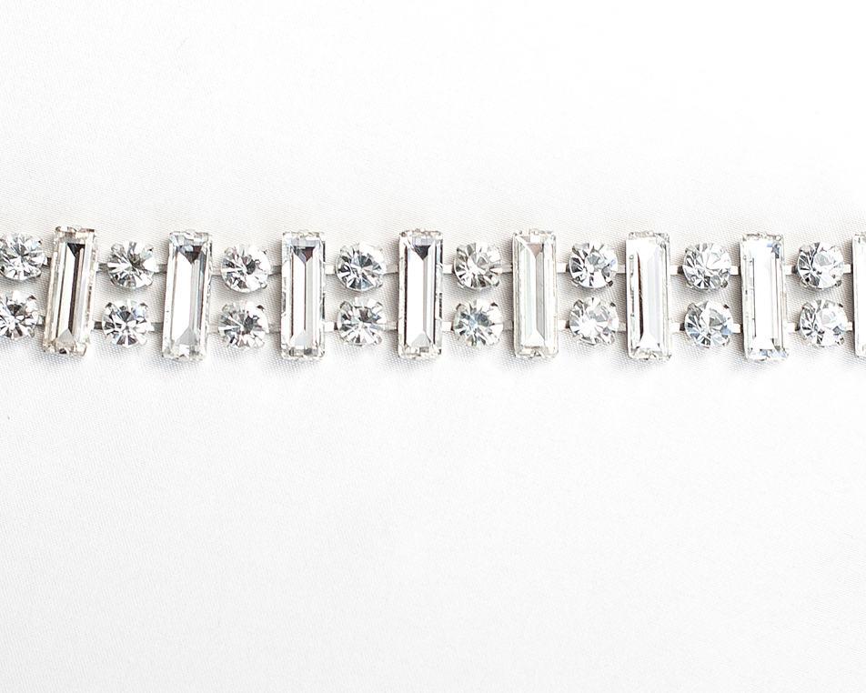 Deco Rhinestone Crystal Chain