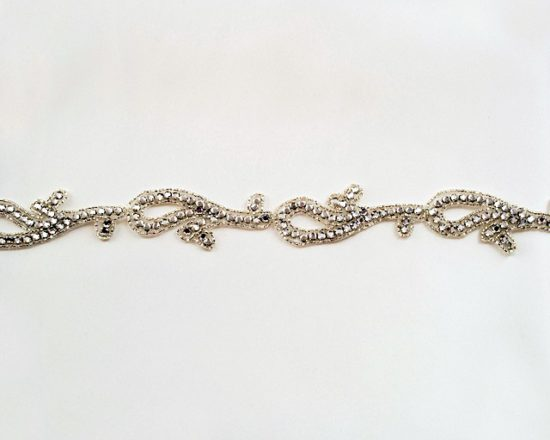 Lexi Rhinestone Beaded Trim