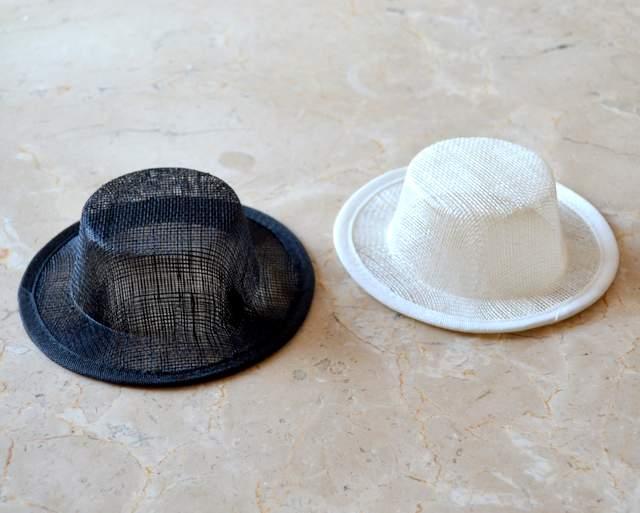Sinamay Mini Bolero Hat
