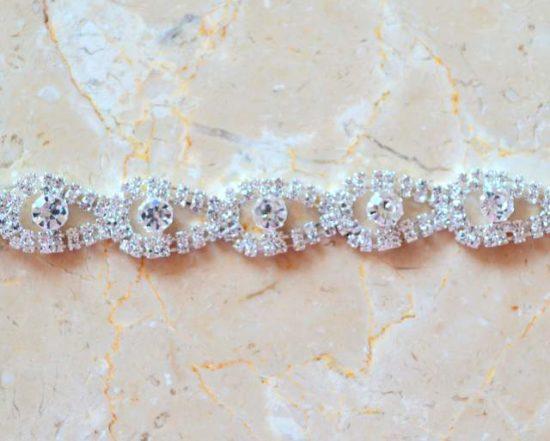 Cleo Rhinestone Chain