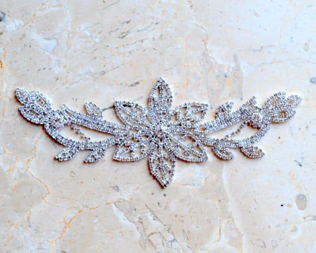 Alloro Rhinestone Ornament