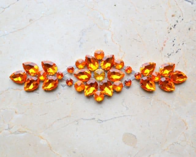 Lucinda Acrylic Jewel Ornament