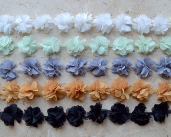Chiffon Flutter Trim (Color Set 1)