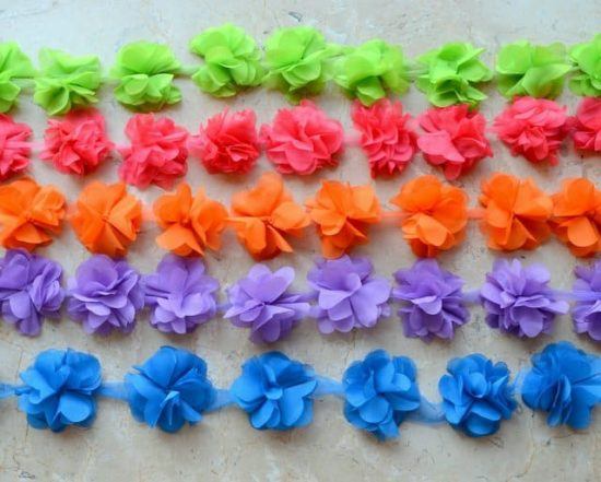 Chiffon Flutter Trim (Color Set 2)