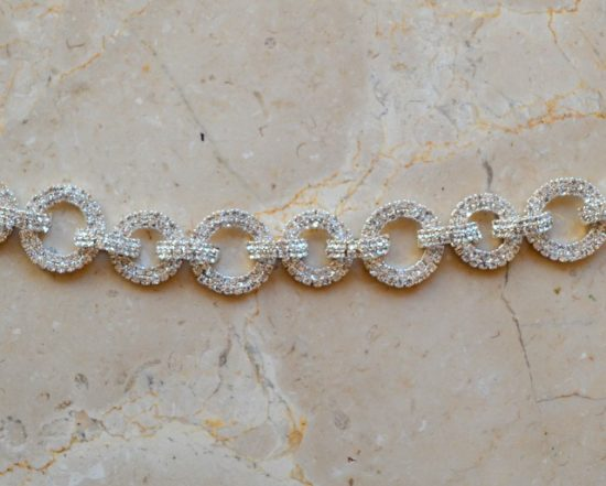 Pave Rhinestone Links Chain