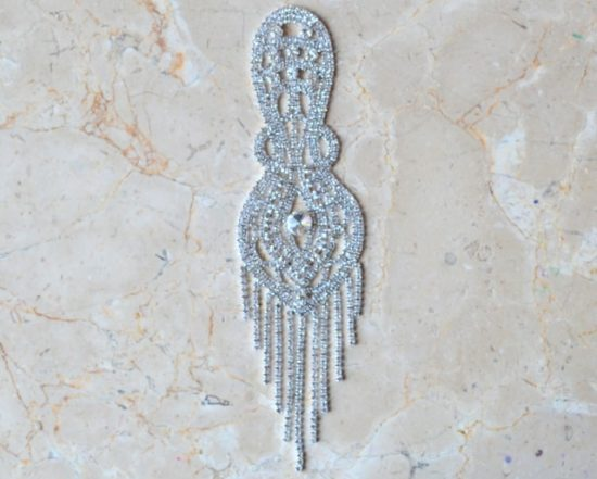 Rafella Rhinestone Epaulet Ornament