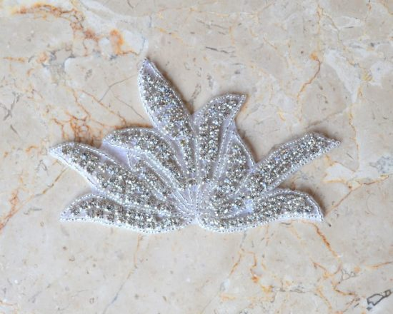 Rhinestone Sprout Applique (Iron-On)