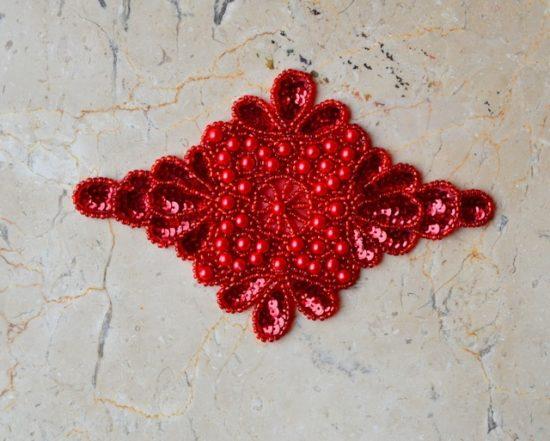 Beaded Regal Emblem