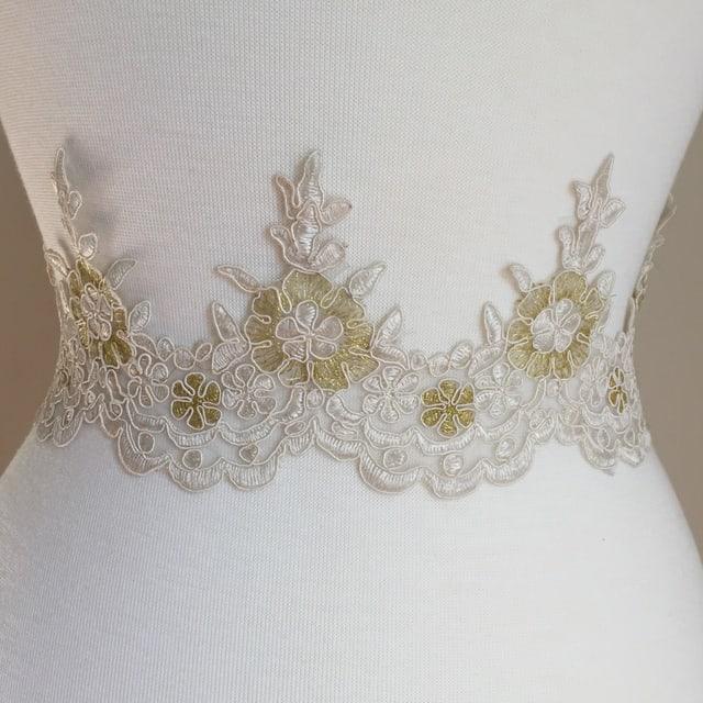 Vivi Embroidered Lace Trim