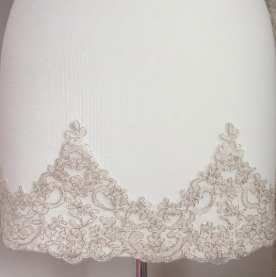 Toulouse Wide Embroidered Scallop Lace Trim