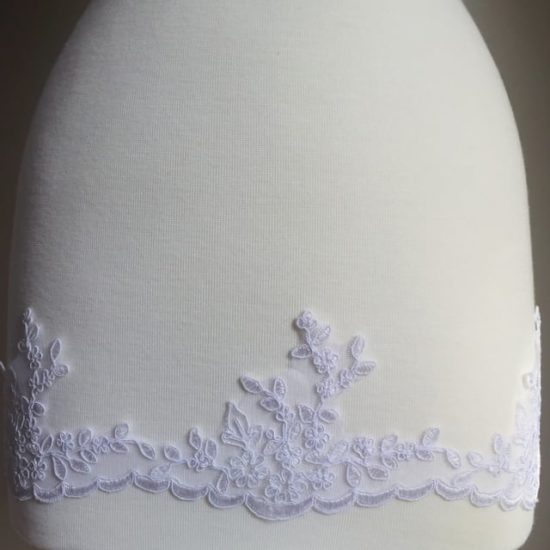 Marseilles Embroidered Scallop Lace Trim