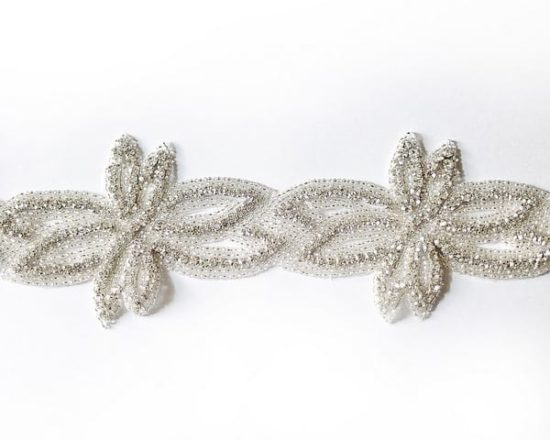 *SALE* Josie Wide Rhinestone Trim