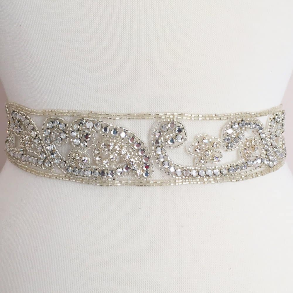 Rhinestone Band (Wide)