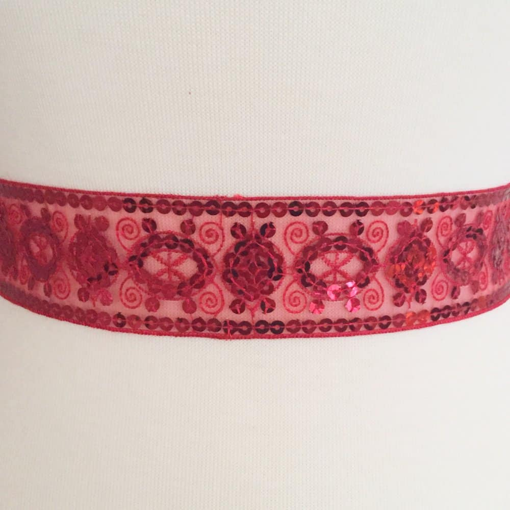 Sequined Trim Band