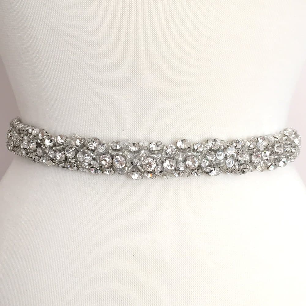Diva Rhinestone Beaded Trim