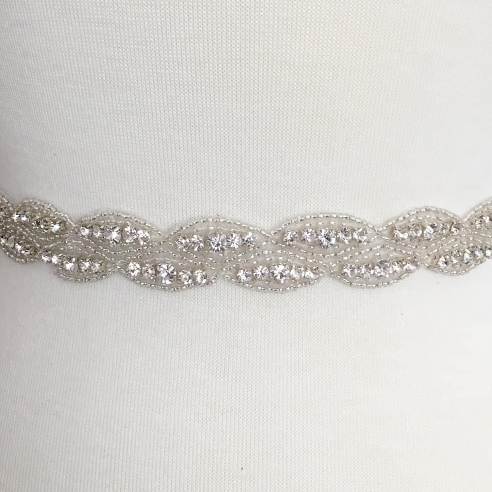 Eve Rhinestone Beaded Trim