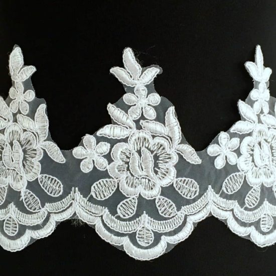 Philomena Scallop Lace Trim