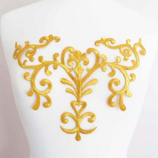 Large Embroidered Chestpiece (Iron-On)