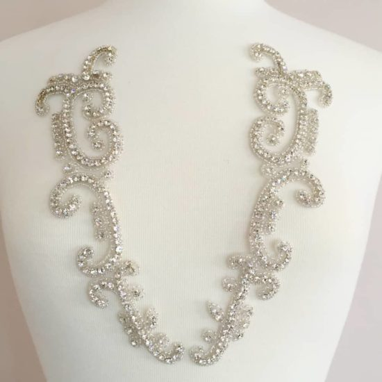 Rianna Matching Rhinestone Applique