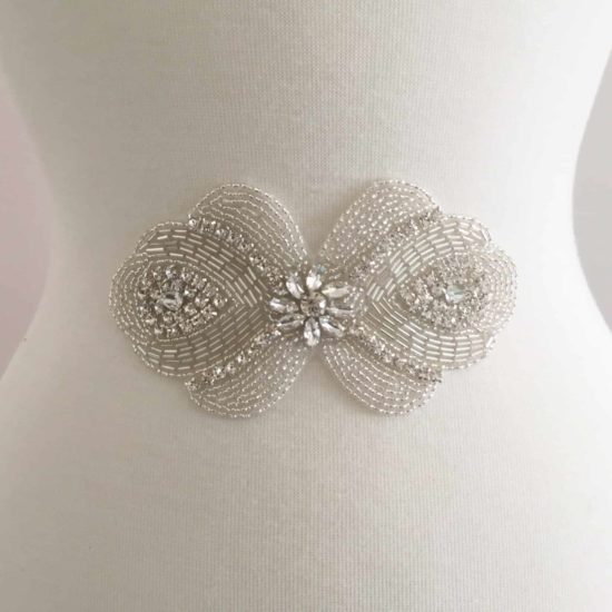 Bonnie Rhinestone Applique (Iron-On)