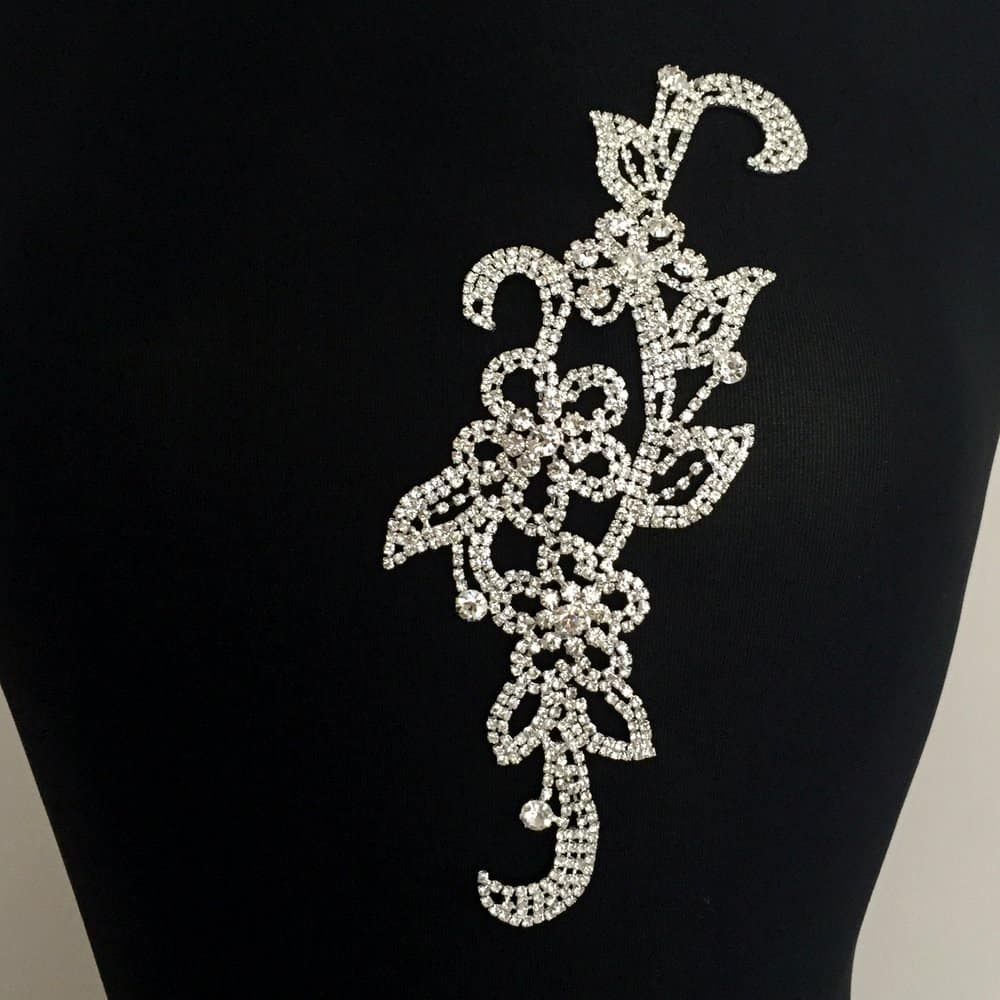 Opaline Rhinestone Ornament