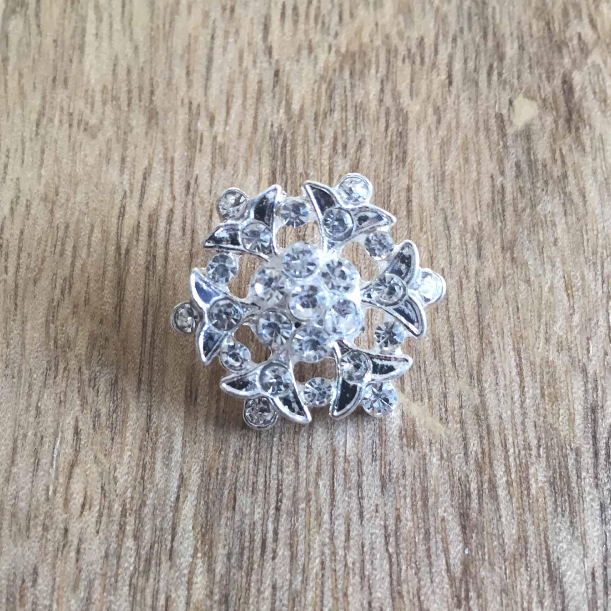 Ayre Silver Button