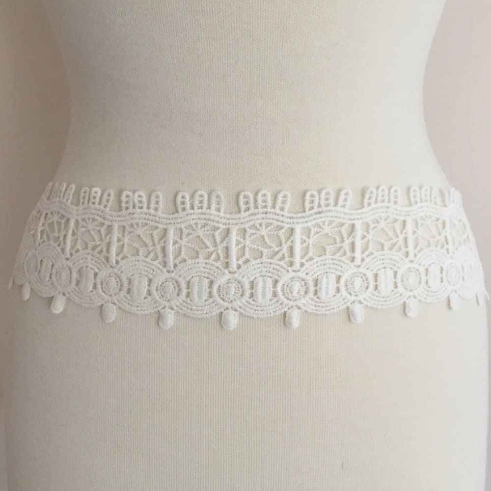 Art Deco Cotton Lace Trim