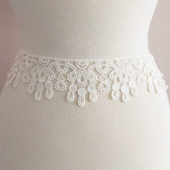 Cotton Cluny Scallop Lace Trim