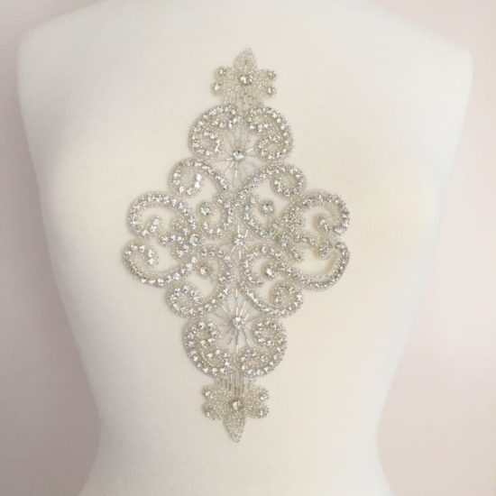 Large Countess Rhinestone Applique