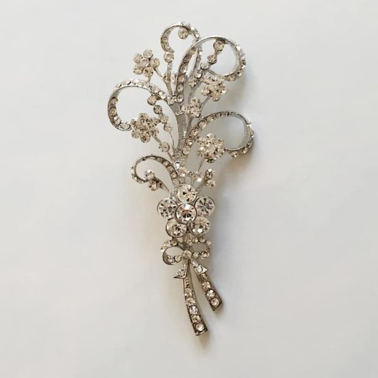 Belle Bouquet Rhinestone Brooch