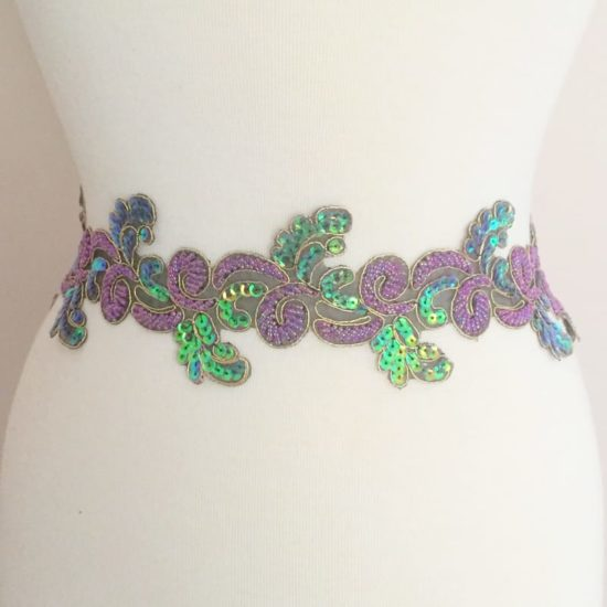 Jubilee Sequin Bead Trim