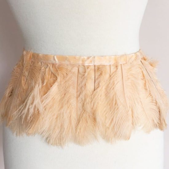 Baby Ostrich Feather Plume Trim (ass't colors)