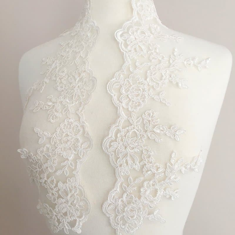 Rochelle Re-Embroidered Lace Trim