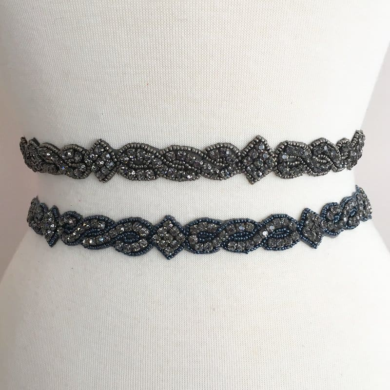 Regalia Rhinestone Beaded Trim (COLORS)