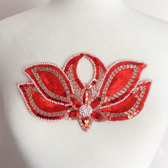 Mystique Sequin Bead Applique