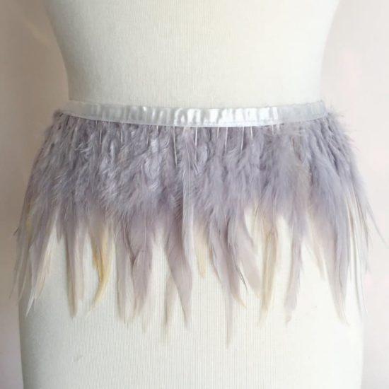 Solid Hackle Feather Trim (Asst Colors)