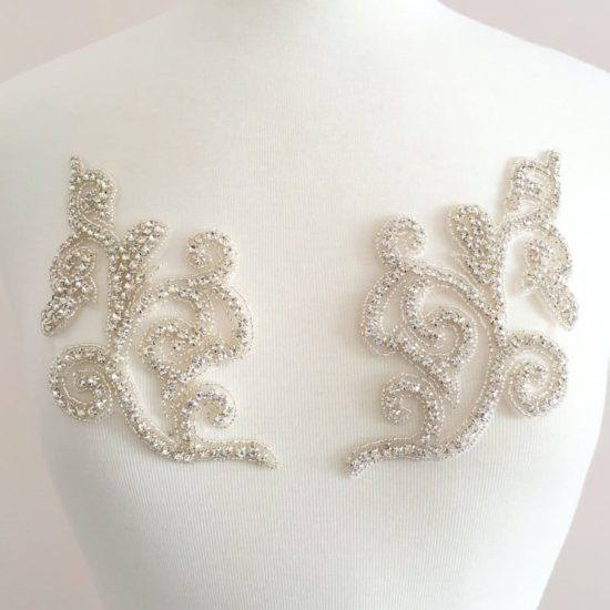 Sol Matching Rhinestone Applique
