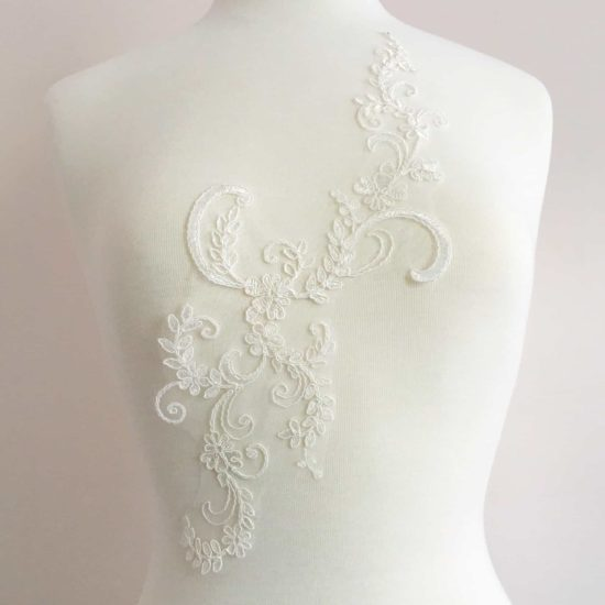 Classic Floral Lace Applique