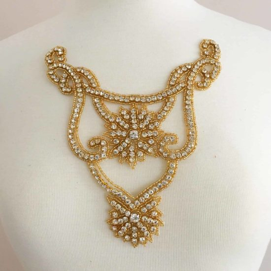 Gold Royal Neckpiece