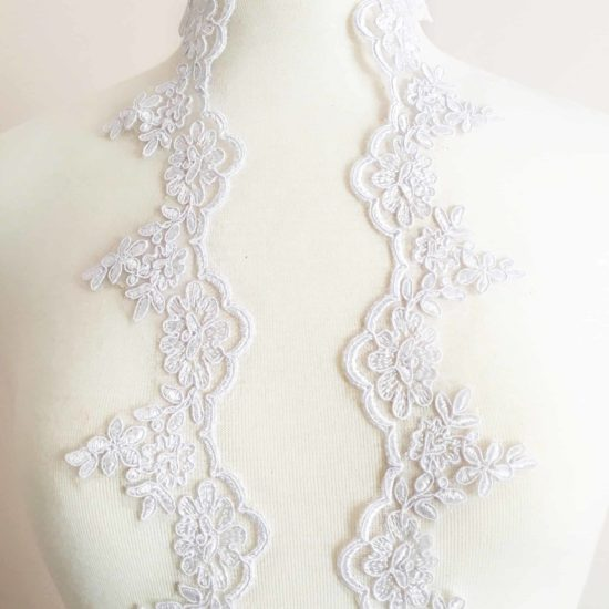 Rochellina Re-Embroidered Lace Trim