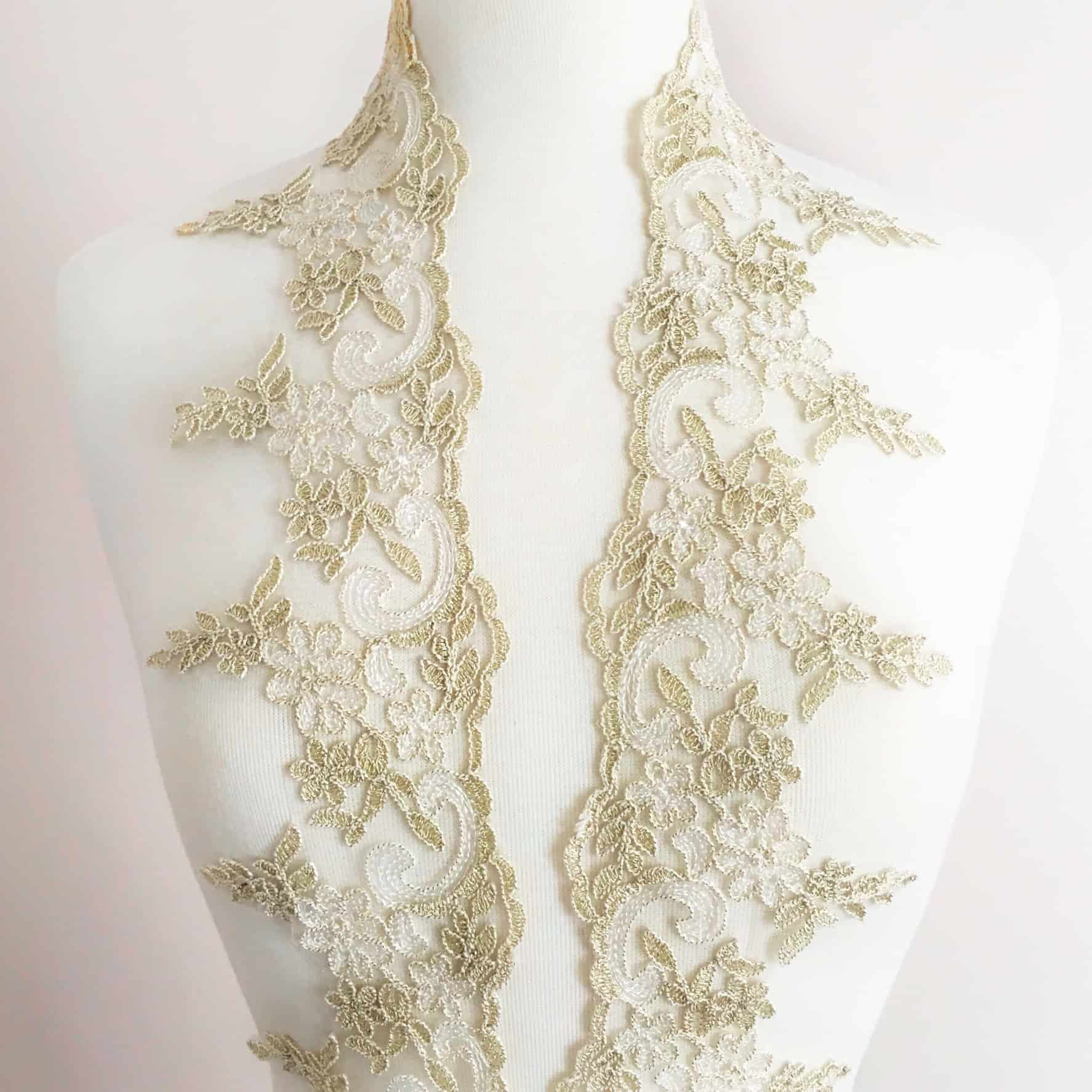 Elegance Re-Embroidered Lace Trim