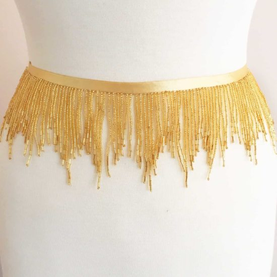 "3"" Variegated Beaded Fringe"