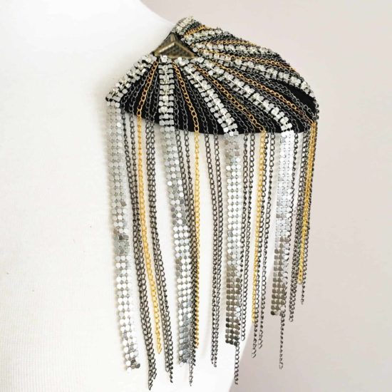 Mixed Metal Epaulet
