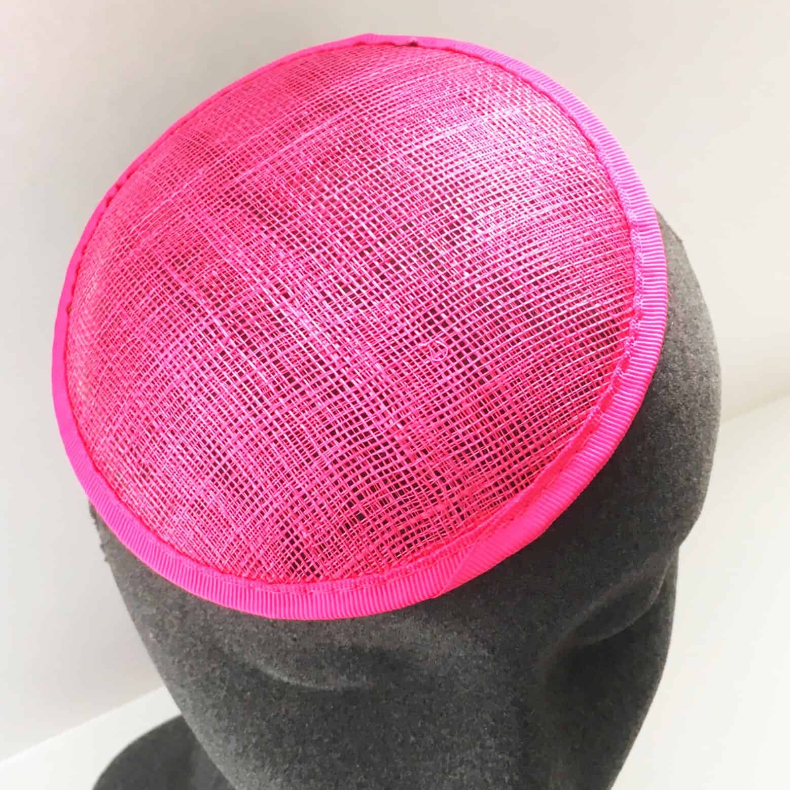 Sinamay Round Fascinator Base
